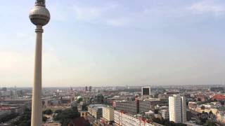 24 hours in one minute - Berlin view from our hotel  (Video by Luci Westphal)
