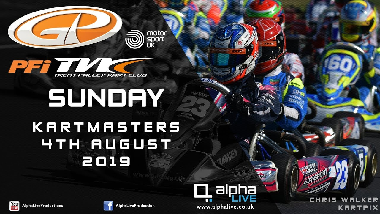 2019 Motorsport UK Kartmasters British Kart Grand Prix LIVE - SUNDAY