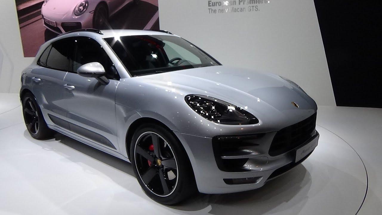 2016 porsche macan gts exterior and interior auto - Porsche macan white with red interior ...