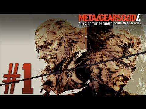 Metal Gear Solid 4: Guns Of The Patriots   Parte 1   REPLAY en Español