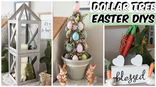 DOLLAR TREE MUST WATCH EASTER DECOR DIYS