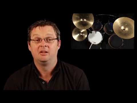 Learning Drums Lesson - Funky Bass drum Independence part 2