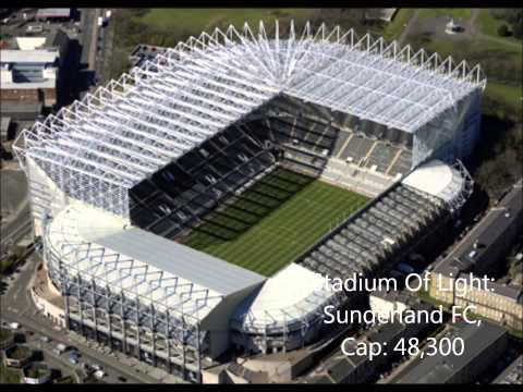 Premership stadium guide, 2012/2013 season