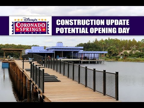 Disney's Coronado Springs Resort Potential Opening Day and Construction Update November 2018