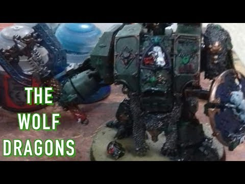 40 Facts & Lore on the WolfDragon Space Marine Fan Chapter warhammer 40K