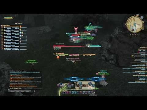 FINAL FANTASY XIV- 48 man Seal Rock Glitch