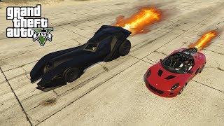 GTA V - WELKE IS SNELLER? ROCKET VOLTIC OF DE BATMAN AUTO?