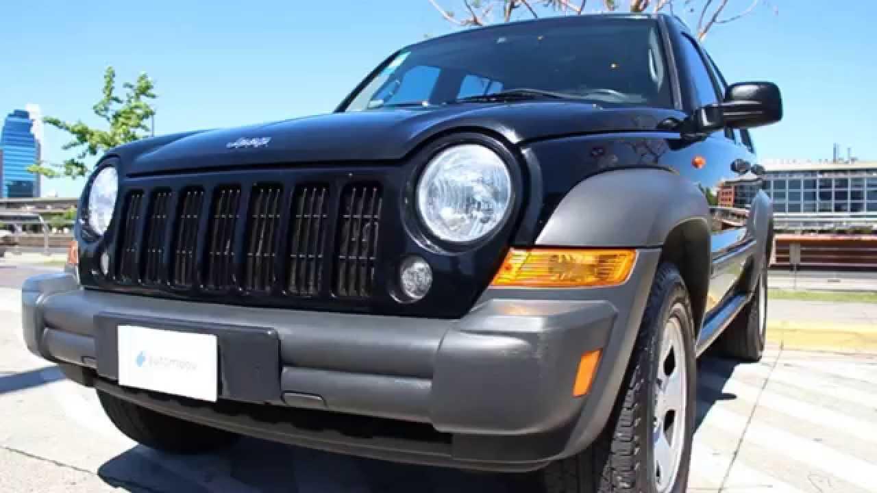 jeep cherokee sport 3.7 v6 2007 - youtube