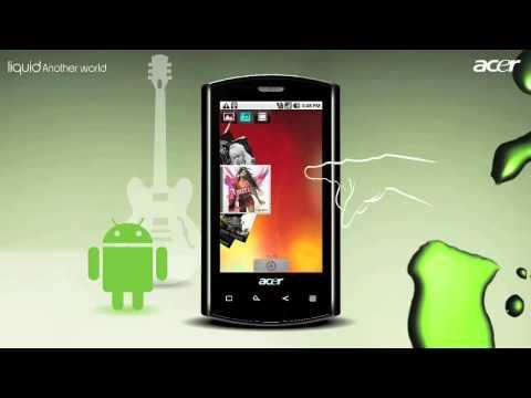 Acer LIQUID E Android smartphone promo