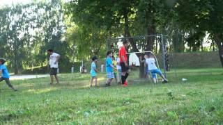 """Футбол в Суздале 08.06.2014 г. (Шахматная школа """"Этюд"""")"""