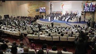 السيد فائز السراج رئيس المجلس الرئاسي لحكومة الوفاق الوطني في قمة افريقيا فرنسا في العاصمة باماكو