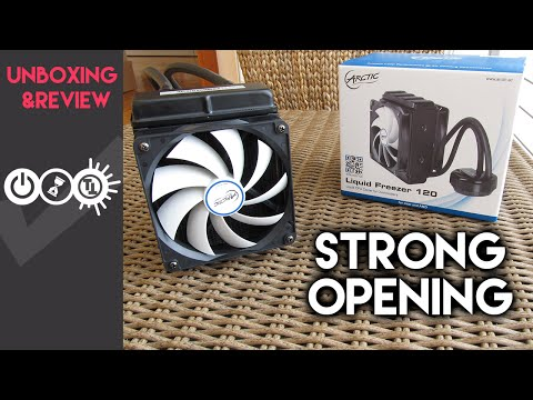 Arctic Liquid Freezer 120 Review & Unboxing