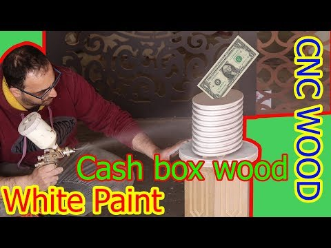 47.0 How to make a cash box wood | money box  | by CNC woodworking