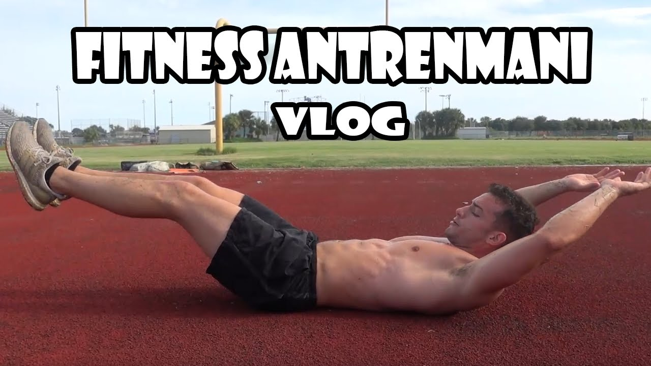 Vlog: Drew ile Fitness antrenman gunu !