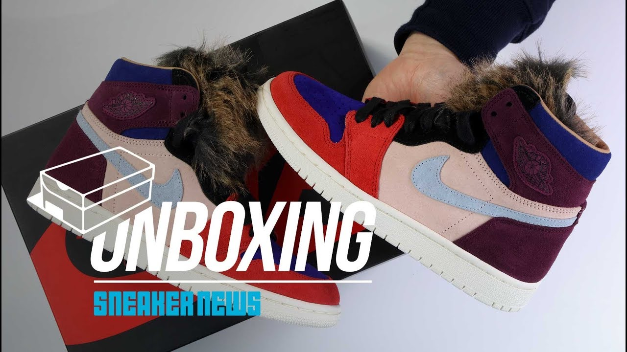 e94003ced6687d Jordan 1 Aleali May Fur Tongue Unboxing + Review - YouTube