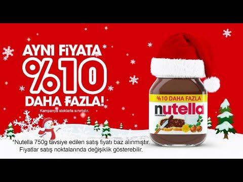 Yeni Yıl Kahvaltılarında Nutella Aynı Fiyata %10 Daha Fazla!