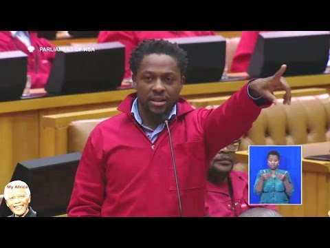 FUNNY. Malema And Ndlozi vs Home Affairs Minister Malusi Gigaba