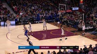 1st Quarter, One Box Video: Cleveland Cavaliers vs. New York Knicks