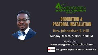 Ordination & Installation Service_03/07/2021