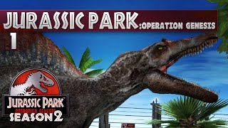 Jurassic Park: Operation Genesis || 1 || Carnivore Park!