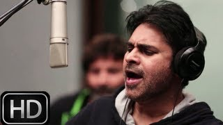 Kaatam Rayuda Song - Pawan Kalyan | Attarintiki Daredi song making