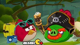 Angry Birds Epic: Monday Challenge Dungeon Porktuga Golden Bad Piggies