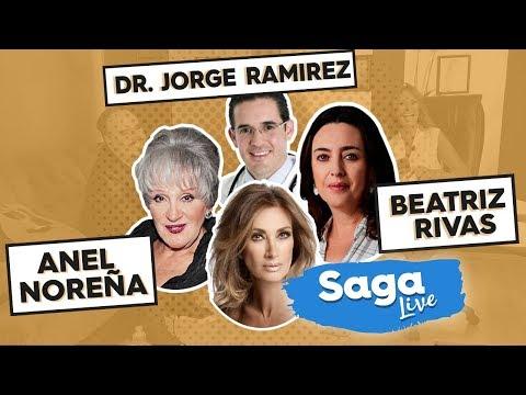 #SagaLive Anel, la escritora Beatriz Rivas y obesidad con el Dr. Jorge Ramírez con Adela Micha