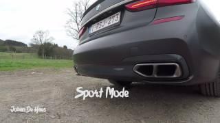 BMW M760Li xDrive 2017 / Exhaust sound V12 / exterior shots / Walkaround