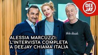 """Alessia Marcuzzi presenta """" In Viaggio con Alessia"""" a Deejay Chiama Italia"""
