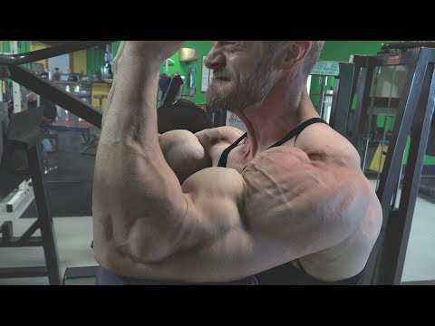 Natural Bodybuilding Pro Mike Porter Arms And Shoulders  Training Video