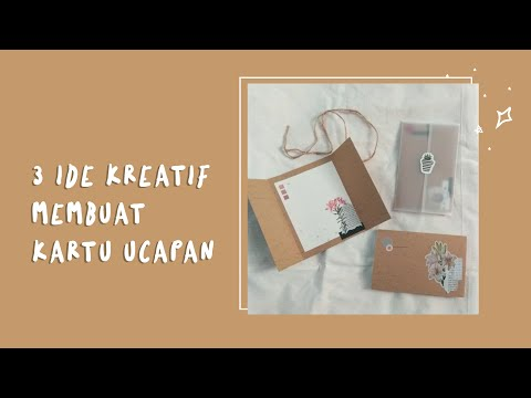 How to make pop up card | Tutorial membuat kartu ucapan ulang tahun So romantic greeting card!.