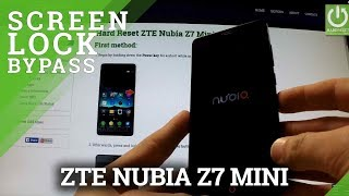 Hard Reset ZTE Nubia Z7 Mini - Bypass Pattern Lock and Password