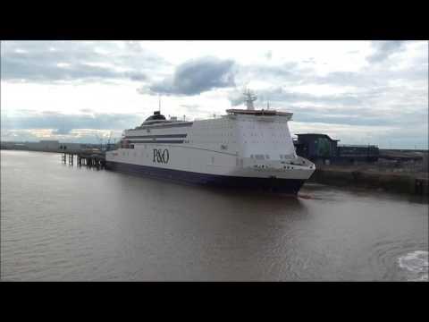 (Hull To Zeebrugge on Pride of Bruges).