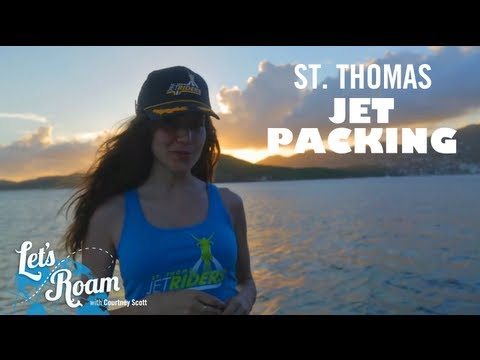 Jetpacking in St. Thomas | Let's Roam