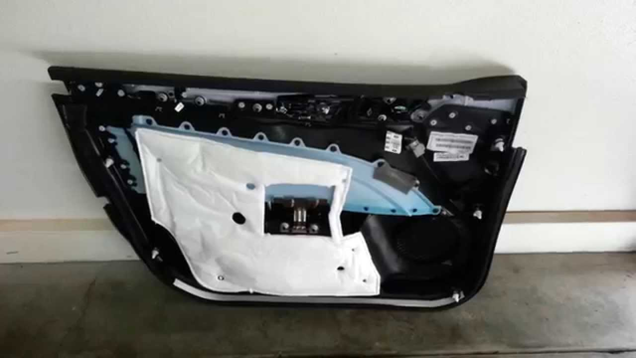 2014 Ford Fusion Titanium Plastic Interior Door Panel