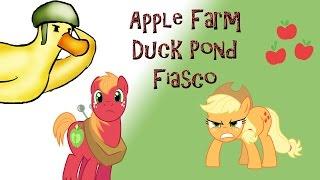 My Little Pony Stop Motion: Apple Farm Duck Fiasco