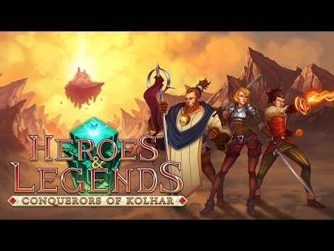 Heroes & Legends: Conquerors of Kolhar (by Phoenix Online Studios) - Universal - HD Gameplay Trailer