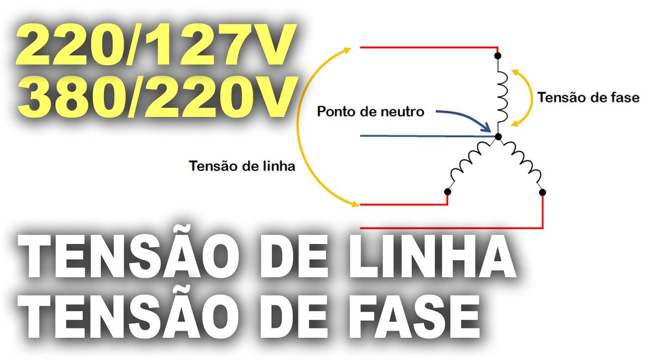 97d803a3456 Tensão de linha e tensão de fase