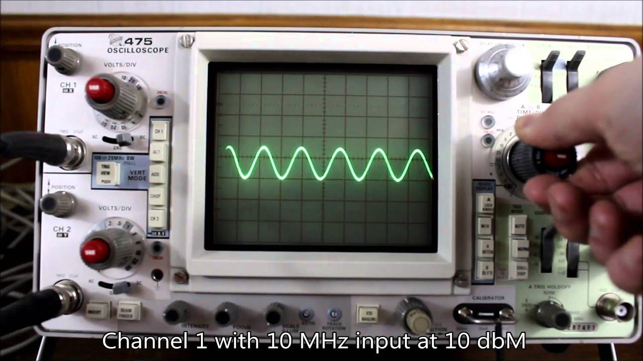 tektronix 475 200 mhz 2 channel oscilloscope o scope youtube rh youtube com Tektronix Current Probe tektronix 475a service manual
