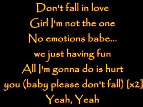 Lyrics - Neyo - Don't Fall In Love