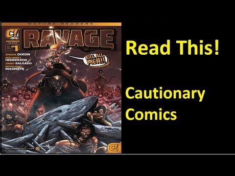 Ravage Kill All Men I All Thriller With No Filler I Cautionary Comics I Comicsgate