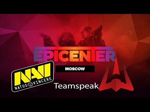 Na'Vi Teamspeak Vs Avangar (Epicenter 2018)