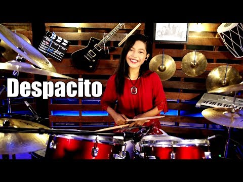 Luis Fonsi - Despacito ft. Daddy Yankee Drum Cover by Nur Amira Syahira