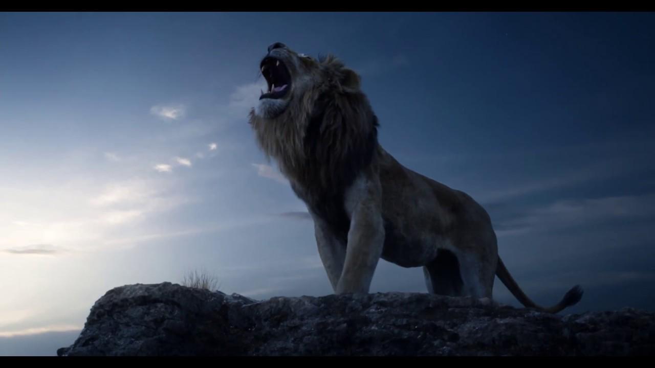 真人版《獅子王》前導預告2019年7月 王者降臨 - YouTube