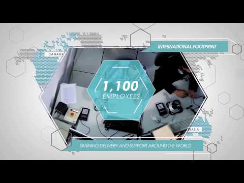 Overview Training & Simulation solutions by Thales
