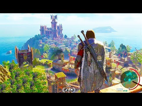 SHADOW OF WAR 88 Minutes of Gameplay Demo (PS4 XBOX ONE PC) Developer Walkthrough 2017