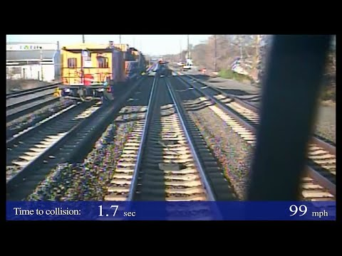NTSB Video: AMTRAK Train Collision with Maintenance-of-Way Equipment