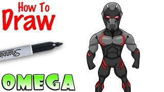 How to Draw Omega | Fortnite