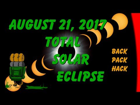Total Solar Eclipse : August 21 2017