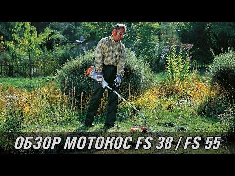 Видеообзор легких бензокос STIHL FS 38 / 40 / 55